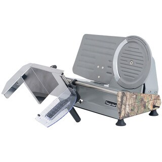 "Magic Chef 8.6"" Meat Slicer with Authentic Realtree Xtra Camouflage Pattern"