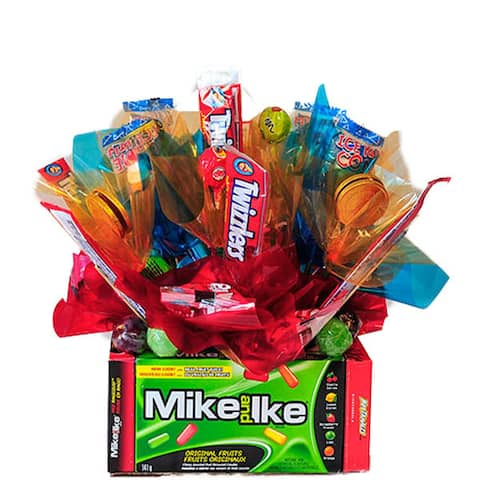 Mike and Ike Candy Bouquet