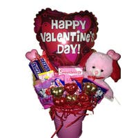 Happy Valentines Day Candy Pail