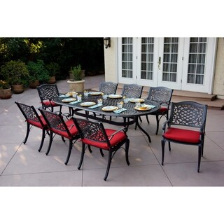 Plazzo 9 Piece Dining Set with Cushions
