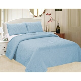 3-piece Bedspread Set with Ocean Star Pattern (CopyR VAu 1-307-832)