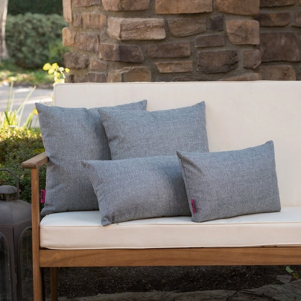 Coronado Outdoor Pillow (Set of 4) by Christopher Knight Home. Opens flyout.