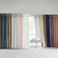 Shop Madison Park Tara Cotton Embroidered 63 Inch Curtain