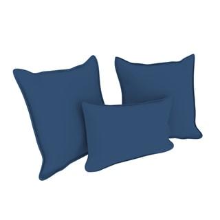Porch & Den Smallman Twill Throw Pillows (Set of 3)