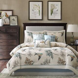 Madison Park Pierce 7-piece Cotton Twill Printed Comforter Set