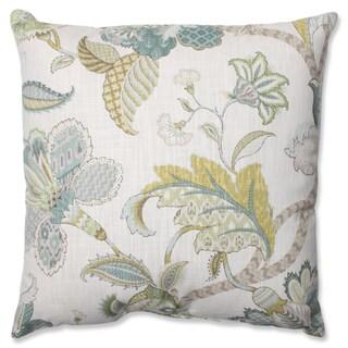 The Gray Barn Windy Oaks Peacock Throw Pillow