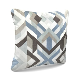 The Curated Nomad Monte Vista 18-inch Poly or Down Filled Throw Pillow