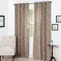 The Gray Barn Yturria Embroidered Curtain Panel