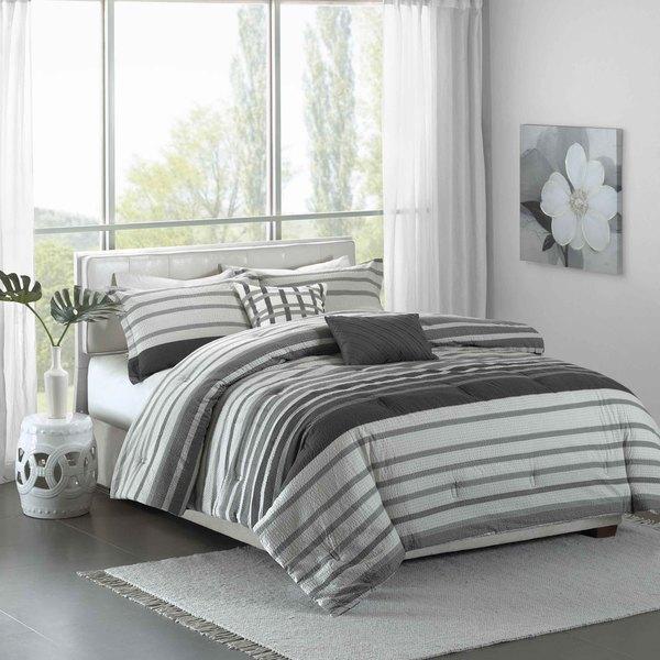 Madison Park Pure Avila 5-Piece Cotton Comforter Set