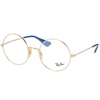Ray-Ban Round RX 6392 JA-JO 2500 Unisex Gold Frame Eyeglasses