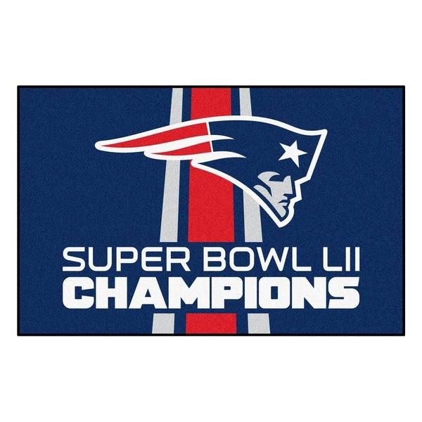 "New England Patriots Starter Mat 19""x30"". Opens flyout."