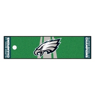 "Philadelphia Eagles Putting Green Mat 18""x72"""