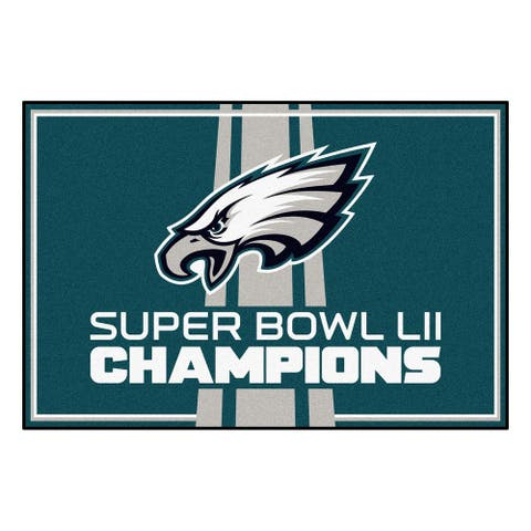 "Philadelphia Eagles 5x8 Rug 59.5""x88"""