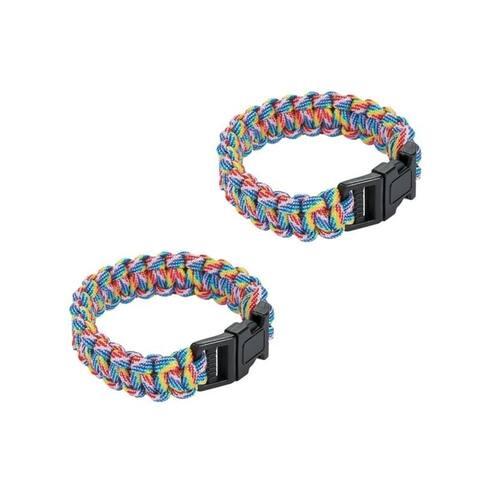 Sport Force Survival Bracelet-2 Pack