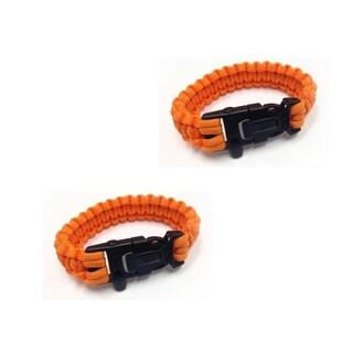 Sport Force Survival Bracelet-2 Pack (More options available)