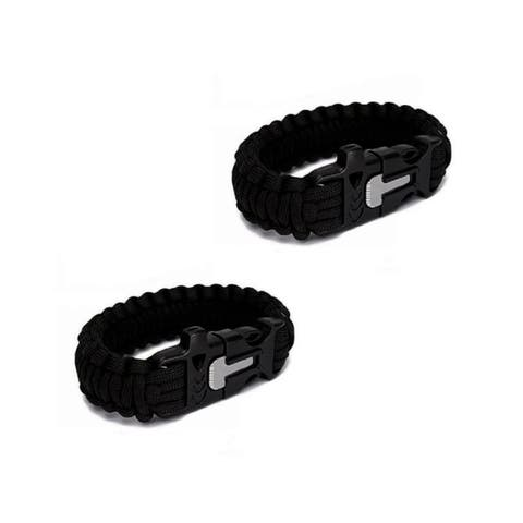Sport Force Survival Bracelet-2 Pack
