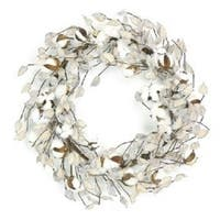 Cotton & Pod Wreath