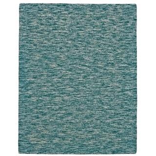 Grand Bazaar Zeni Teal Wool Rug - 8' x 11'