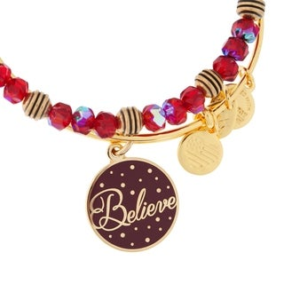 Alex and Ani Believe 2-pc Bangle Set - Red