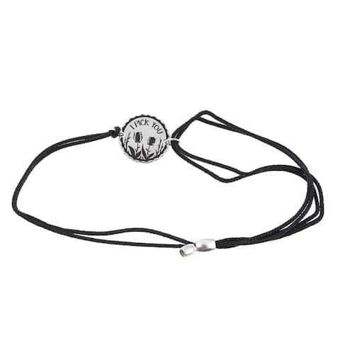 Alex and Ani I Pick You Kindred Cord Bracelet - Black