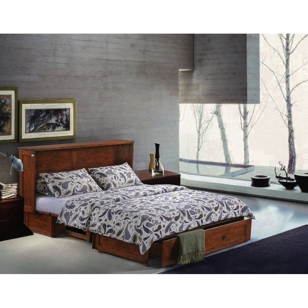 Coldwater Cabinet Bed With Queen Mattress
