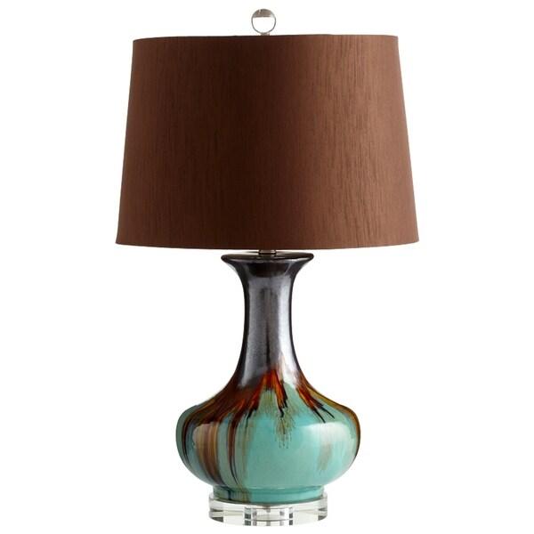 Cyan Design Hyde Blue/Brown Ceramic Table Lamp