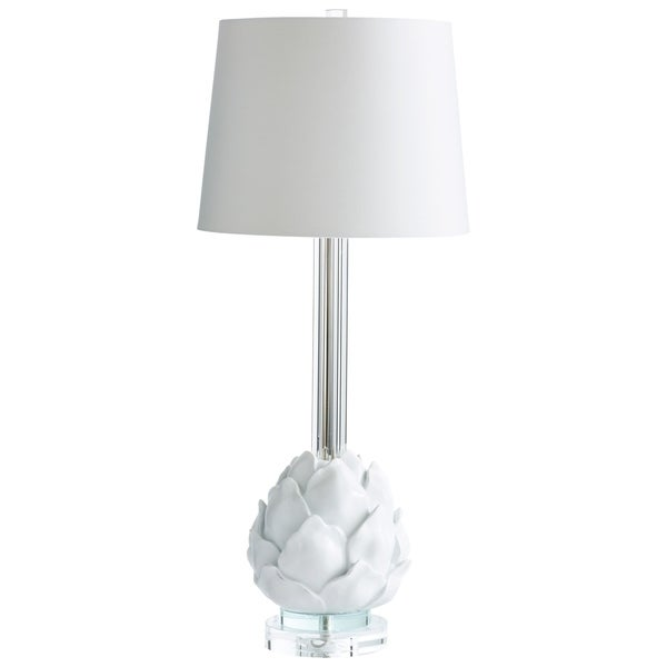 Cyan Design Chloe White Crystal Table Lamp