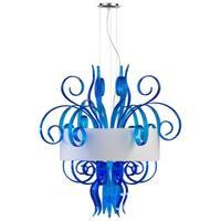 Jellyfish Cyan Large Pendant