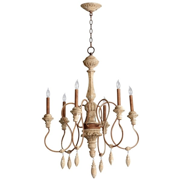 Alda Six Light Chandelier