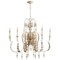 Cyan Design Motivo Wrought Iron 8-light Chandelier