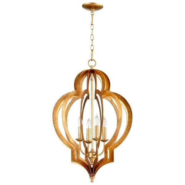 Cyan Design Vertigo Gold-leaf Iron Small Chandelier
