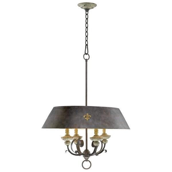 Four Lamp Pendant