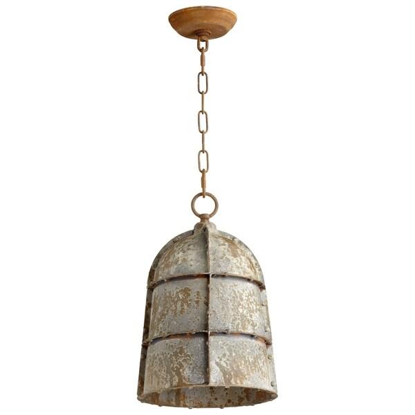 Rusto Distressed Iron Large 1-light Pendant