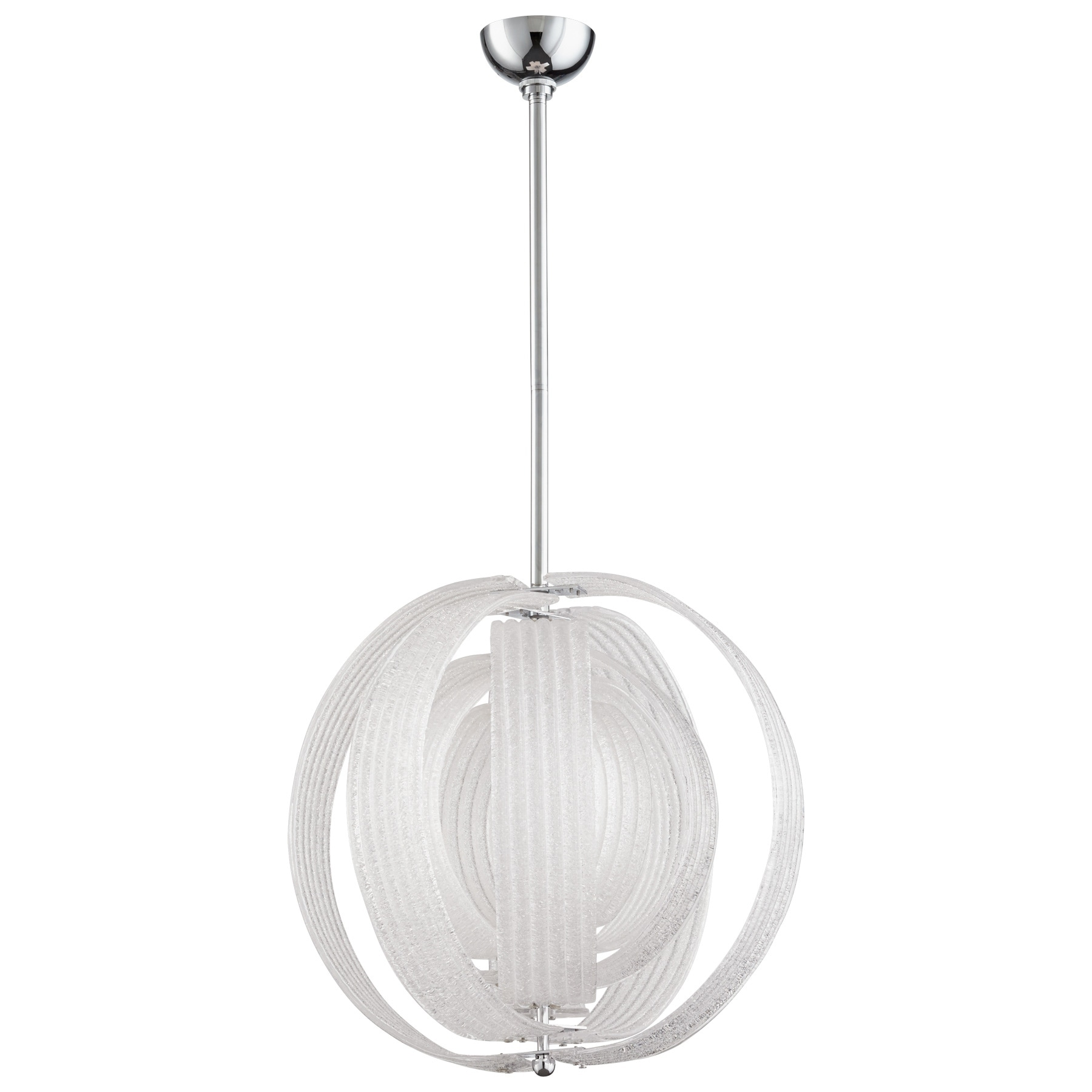 Cyan Design Proteus Frosted Glass 3-light Pendant, Grey c...