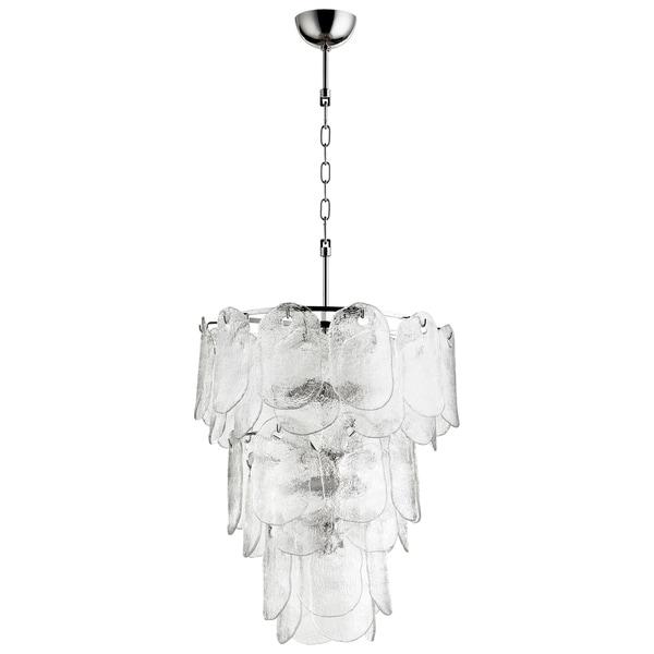 Cyan Design Cascata Clear Glass 8-light Pendant