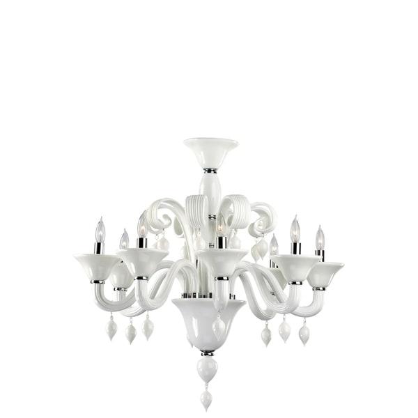 Eight Lamp Chandelier