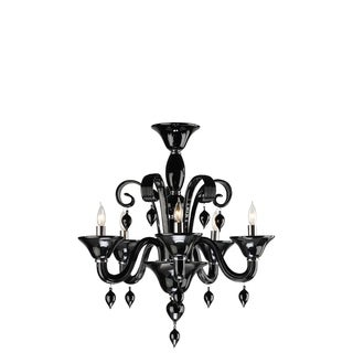 Five Lamp Chandelier