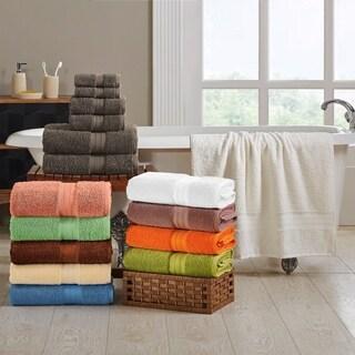 Miranda Haus Plush Absorbent 700 GSM Long Staple Combed Cotton 6-Piece Towel Set