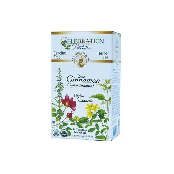 Celebration Herbals 24 tea bag Organic True Cinnamon Tea