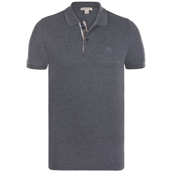 b452f53f Shop Men's Burberry Charcoal Polo Shirt - Free Shipping Today ...