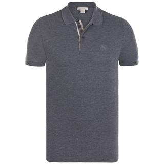 Men's Burberry Charcoal Polo Shirt