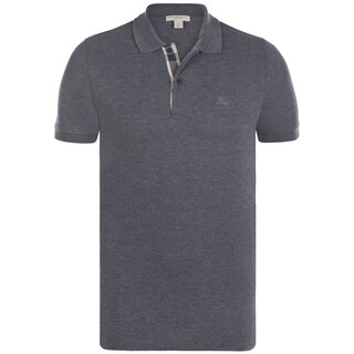 Men's Burberry Charcoal Polo Shirt