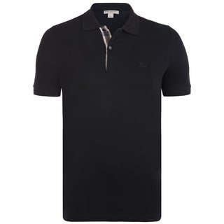 Men's Burberry Black Polo Shirt