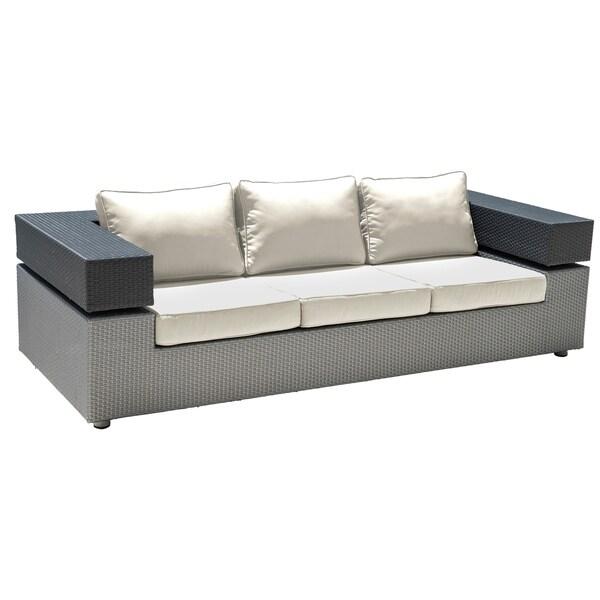 Panama Jack Onyx Sofa w/cushion