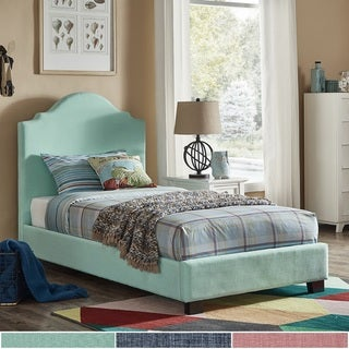 Cara Upholstered Twin Bed by iNSPIRE Q Junior