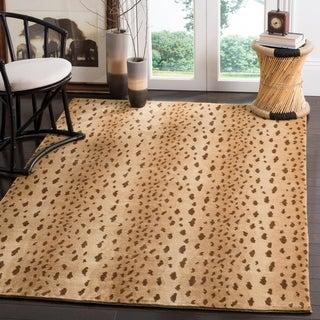 Shop Safavieh Handmade Soho Yamina Leopard N Z Wool Rug
