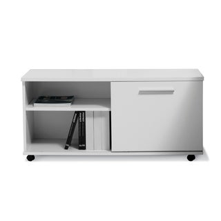 Pure Office White Executive Moveable Cabinet