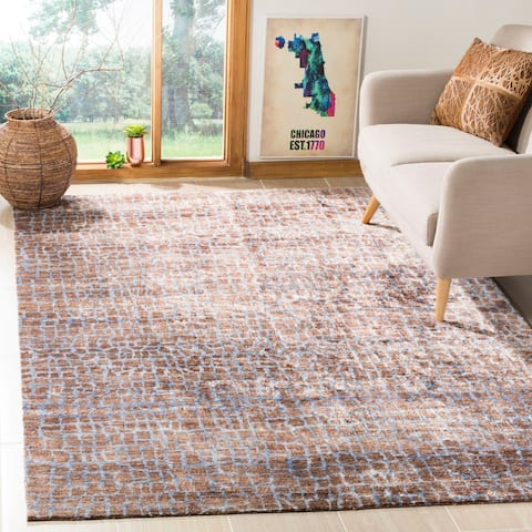 Safavieh Couture Hand-knotted Luxor Karey Modern Rug