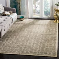 Safavieh Couture Hand-Knotted Tibetan Contemporary Mint Wool & Cotton Rug - 6' x 9'
