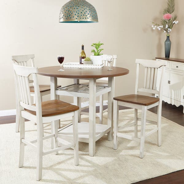 Shop Porch & Den Simmons 5-piece Dining Room Chair and Table ...